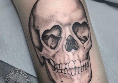 dallas-tattoo-illustrative-skull