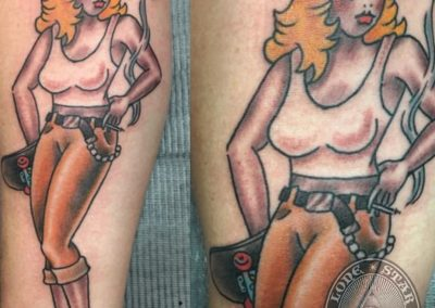 dallas-tattoo-traditional-skater-pinup