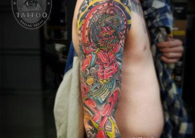 dallas-traditional-japanese-tattoo-raijin