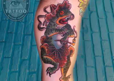 dallas-japanese-tattoo-dancing-frog