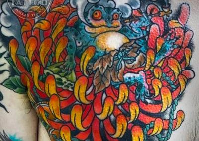 dallas-traditional-tattoo-smoking-frog